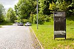 Zufahrt zur Gedenkstätte