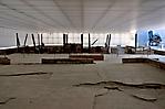 Reste der Krematoriumsöfen -